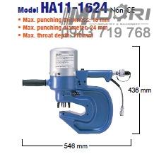 Máy đột thủy lực Nitto HA11-1624