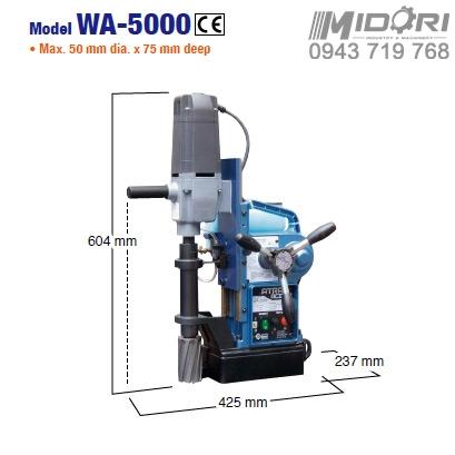 Máy khoan từ WA-5000