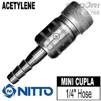 Đầu nối nhanh cho ngành hàn Nitto Mini Cupla