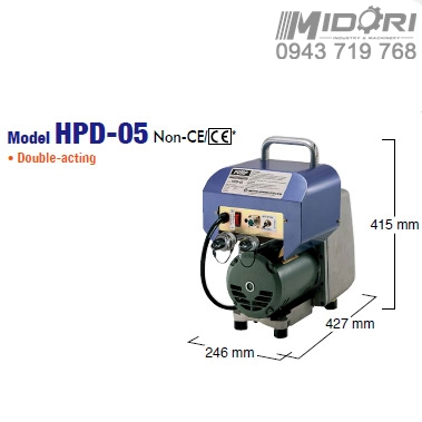 Bơm thủy lực HPD-05