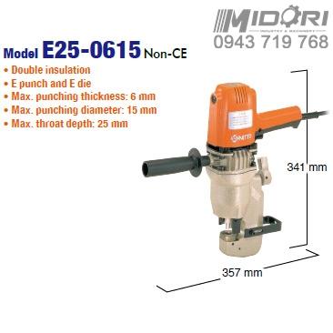 Máy đột thủy lực Nitto E25-0615