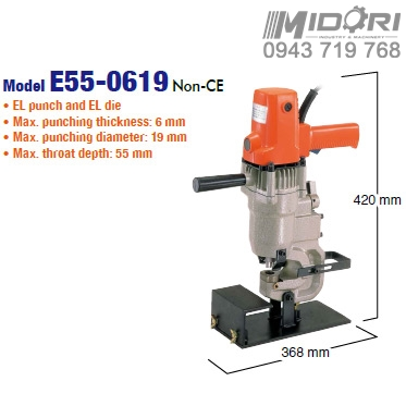 Máy đột thủy lực Nitto E55-0619