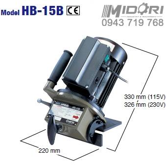Máy vát mép HB-15B
