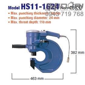 Máy đột lỗ thủy lực HS11-1624
