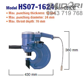 Máy đột lỗ thủy lực HS07-1624