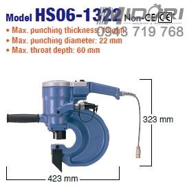 Máy đột lỗ thủy lực HS06-1322