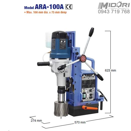 Máy khoan từ ARA-100A