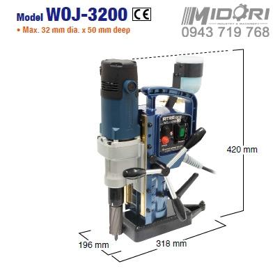 Máy khoan từ WOJ-3200