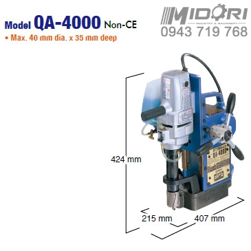 Máy khoan từ QA-4000