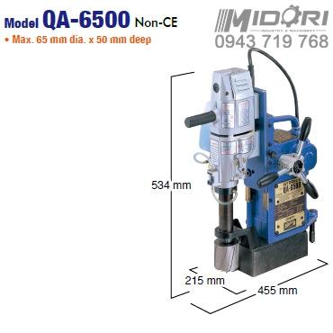 Máy khoan từ QA-6500